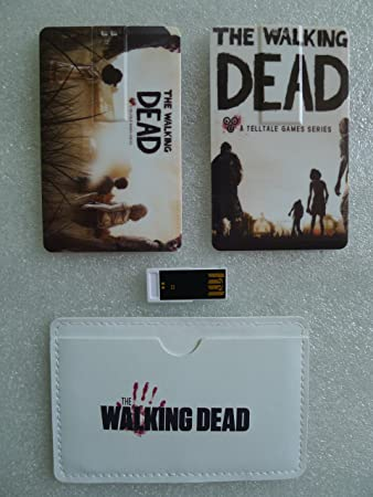 Amazon 16gb the walking dead telltale business credit card 16gb the walking dead telltale business credit card shape size usb 30 20 convenient fast flash reheart Gallery