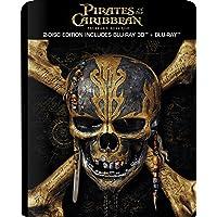 Pirates Of The Caribbean: Salazar's Revenge - 3D BD Steelbook