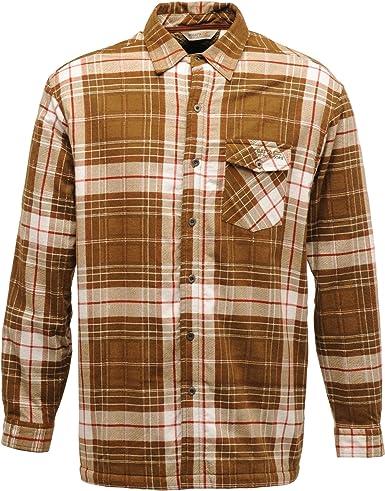 Regatta Great Outdoor - Camisa de Felpa Estilo leñador Modelo Heritage para Hombre (L/Piel): Amazon.es: Ropa y accesorios