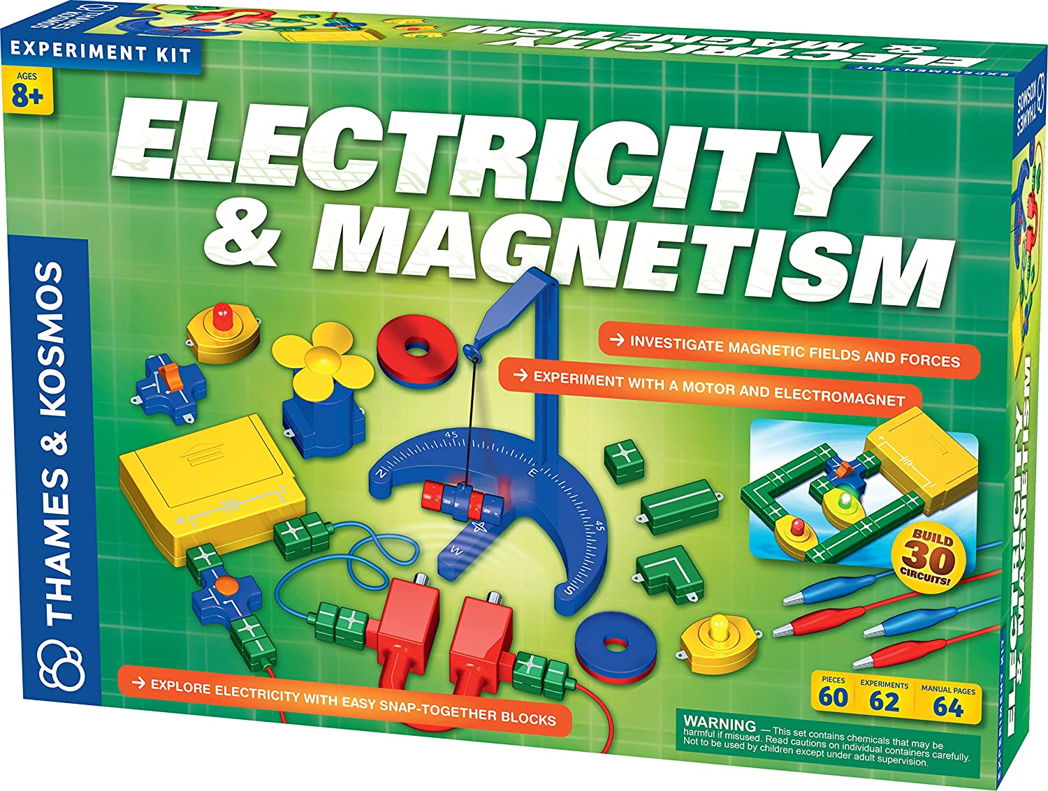 Thames Kosmos Electricity And Magnetism Toys Games Voltage Electronic Snap Circuits Wiki