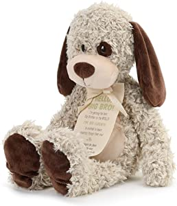 Big Brother Puppy Soft Brown 13 inch Plush Material Stuffed Animal Figure Toy