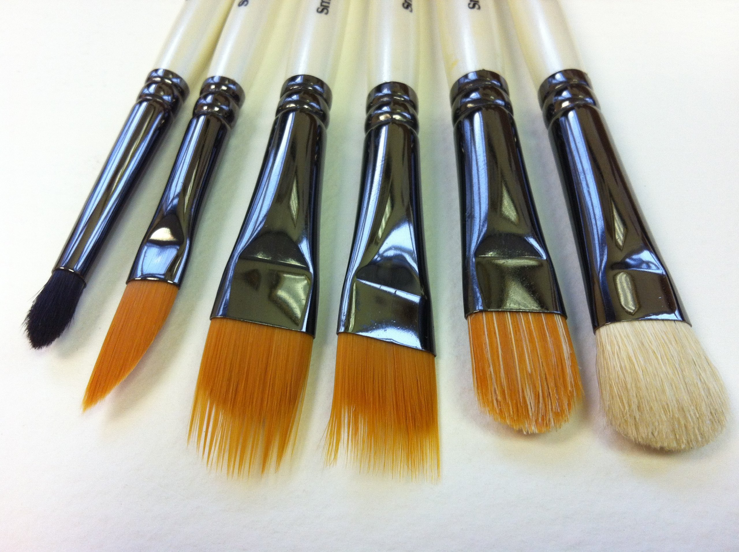Terry Harrison's Special Effects Brushes - Synthetic Blends (Small)