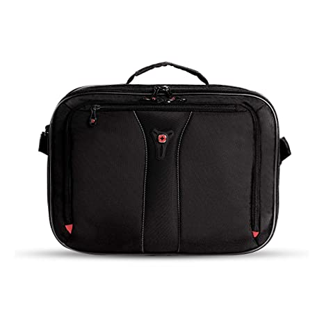 1b76ed1f84ce SWISSGEAR Jasper Expandable Organizer 15-inch Laptop Case | TSA-Friendly  Carry-on | Travel, Work, School | Men's and Women's- Black