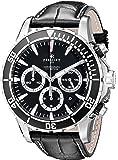 Perrelet Men's A1054/2 Seacraft Analog Display Swiss Automatic Black Watch