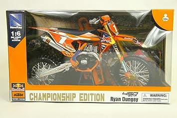 New Ray Motorrad Ktm 450 Sx F Factory Racing Team Ryan Dungey Miniatur 49623 Spielzeug