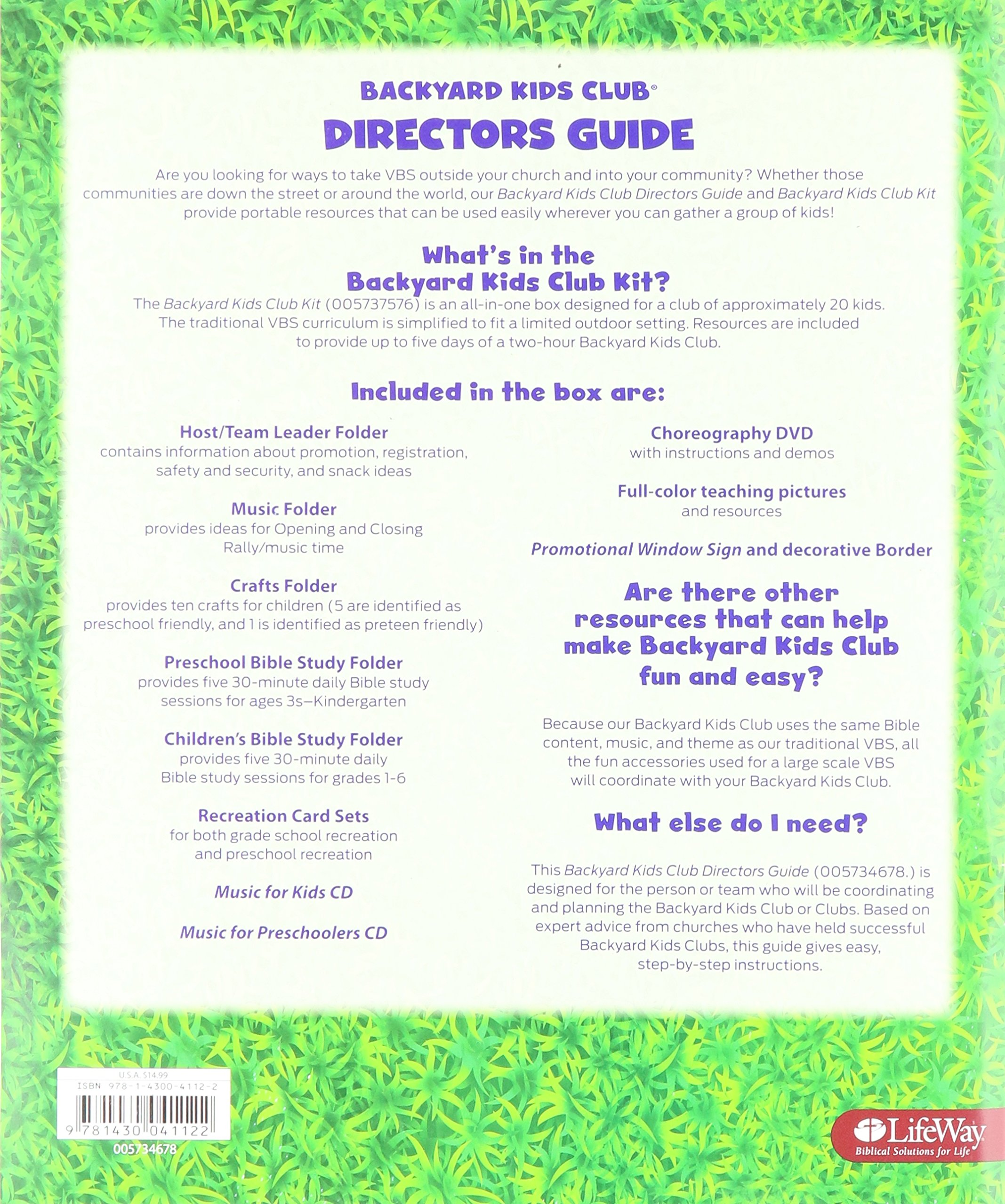 vbs 2016 submerged backyard kids club director u0027s guide lifeway