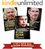 Grow Rich Mindset: 3 in 1 Box set - Elon Musk, Steve Jobs, Richard Branson: Secrets to Success in Life & Business of Billionaire