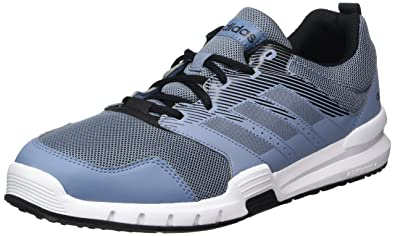 detailed look 14c20 cf528 adidas Essential Star 3 M Chaussures de Running Homme, Multicolore Raw Grey  S18carbon