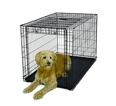 midwest homes for pets ovation single door crate with up and away door 48