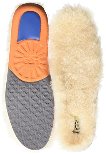 UGG Men's Men's Sheepskin Insole Shoe Accessory, White, 7 Medium US