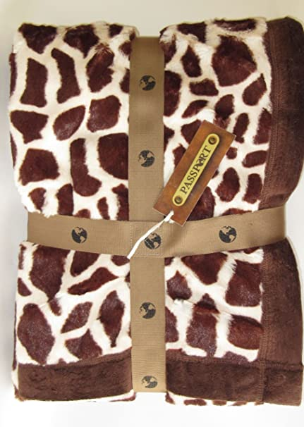 Amazon Birchwood Animal Print Throw Blanket Giraffe Home Cool Giraffe Print Throw Blanket