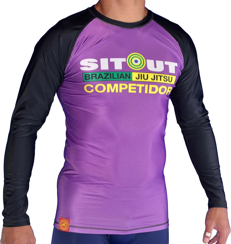 """Purple /""""COMPETIDOR/"""" RANK RASHGUARD"""