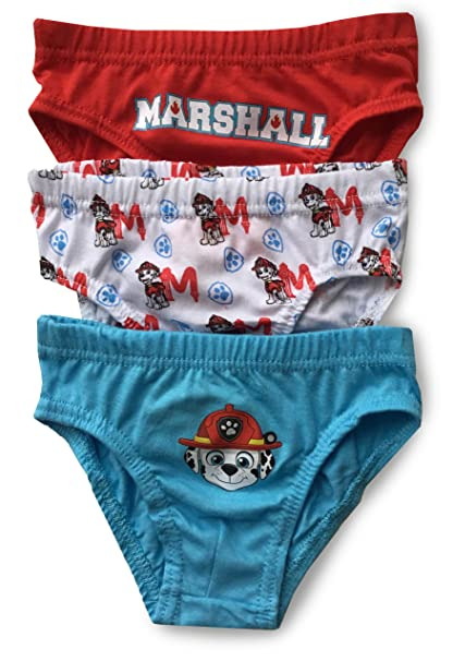 PAW Patrol Briefs Pants Underwear Boys Cotton Pack of 3