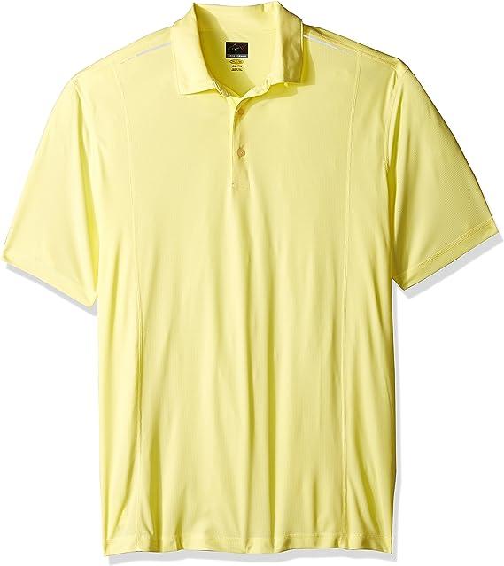 GREG NORMAN - Polo para Hombre, PGA, Color Amarillo limón, tamaño ...
