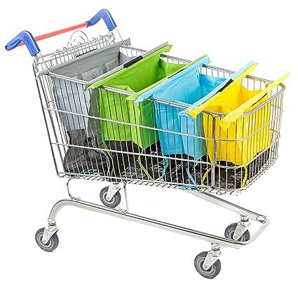 Amazon.com - Trolley Bags Original Shopping Trolley, Pastel -