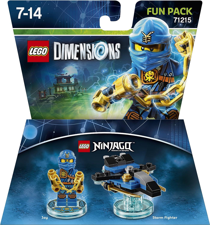 Warner Bros Interactive Spain Lego Dimensions - Ninjago Jay: Amazon.es:  Videojuegos