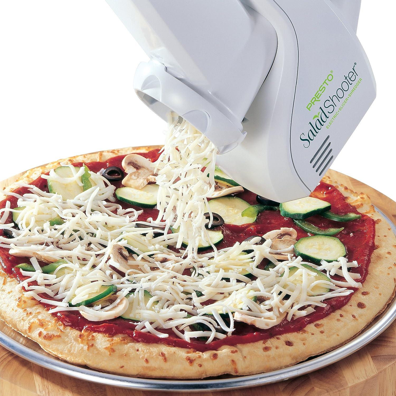 B00006IV0R Presto 02910 Salad Shooter Electric Slicer/Shredder 81aHqTshALL