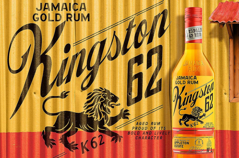Appleton Estate KINGSTON 62 Jamaica Gold Rum 40% - 700ml ...