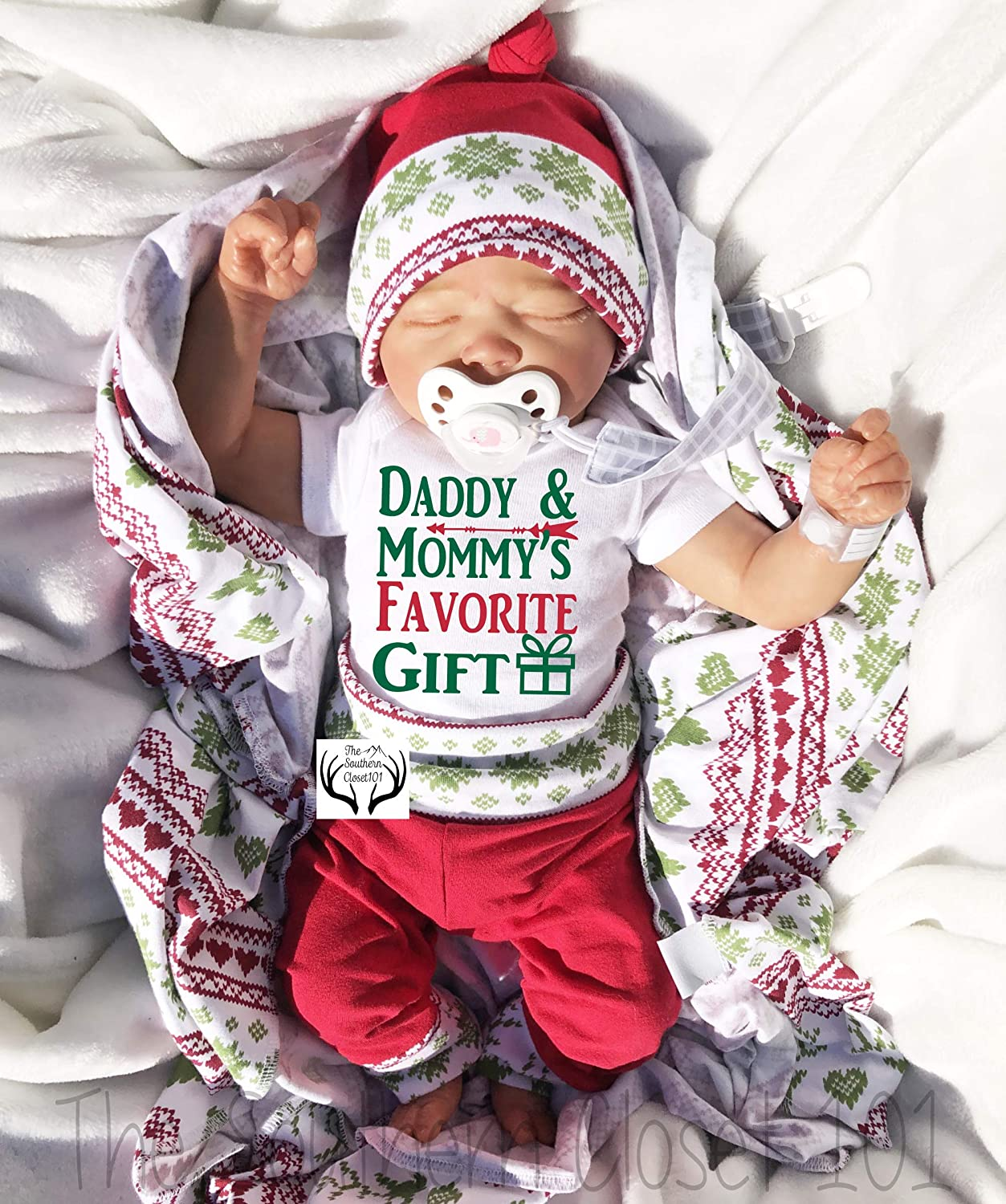 Girl Coming home outfit,Girls Christmas,First Christmas Outfit,Newborn Christmas Outfit Baby Girl Christmas Outfit,Baby Christmas Outfit
