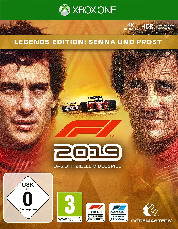 F1 2019 Legends Edition (XBox ONE): Amazon.es: Electrónica
