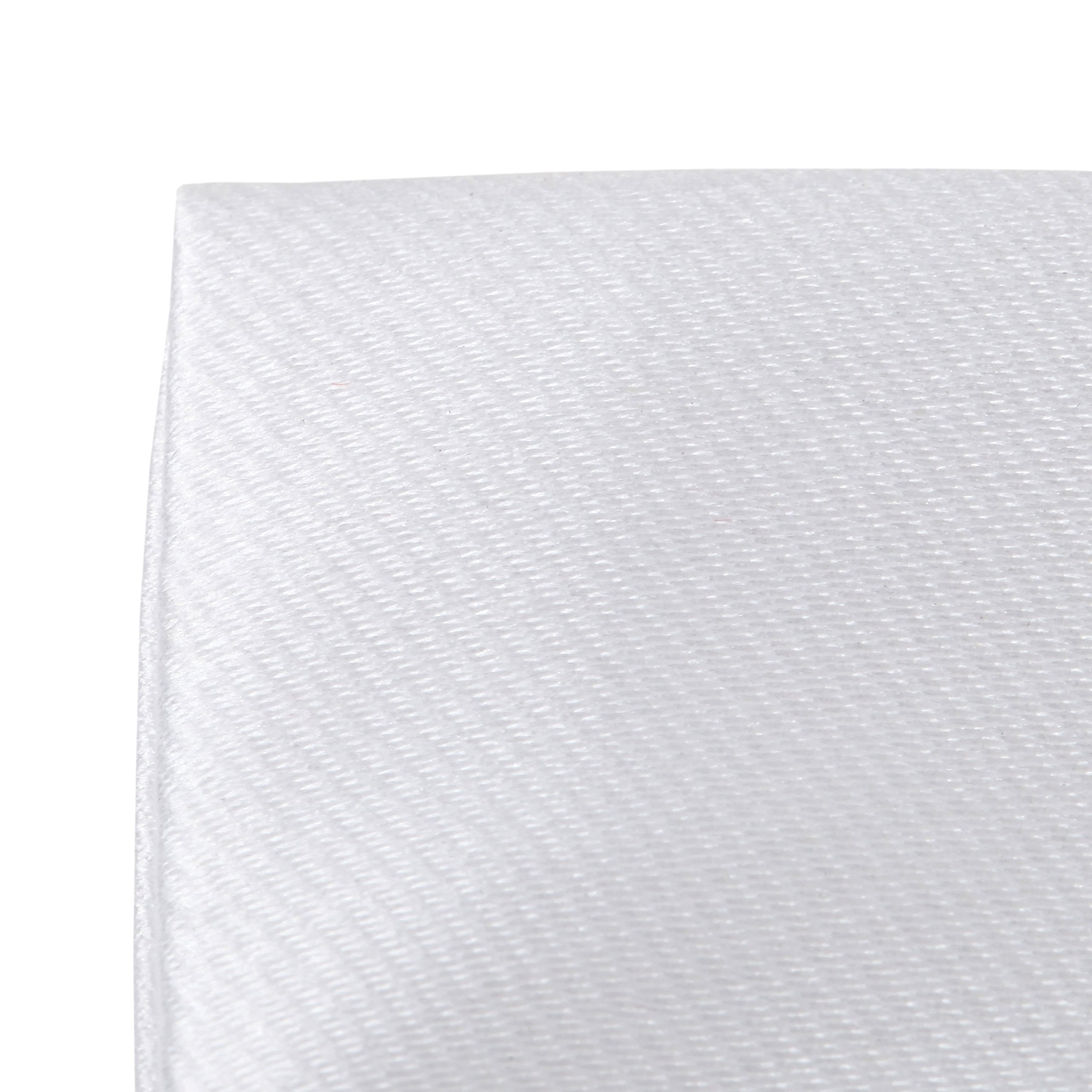 3-Pk White Pocket Square Set Pre Folded, Pesko, Crown and Puff Folds by Puentes Denver (Image #6)