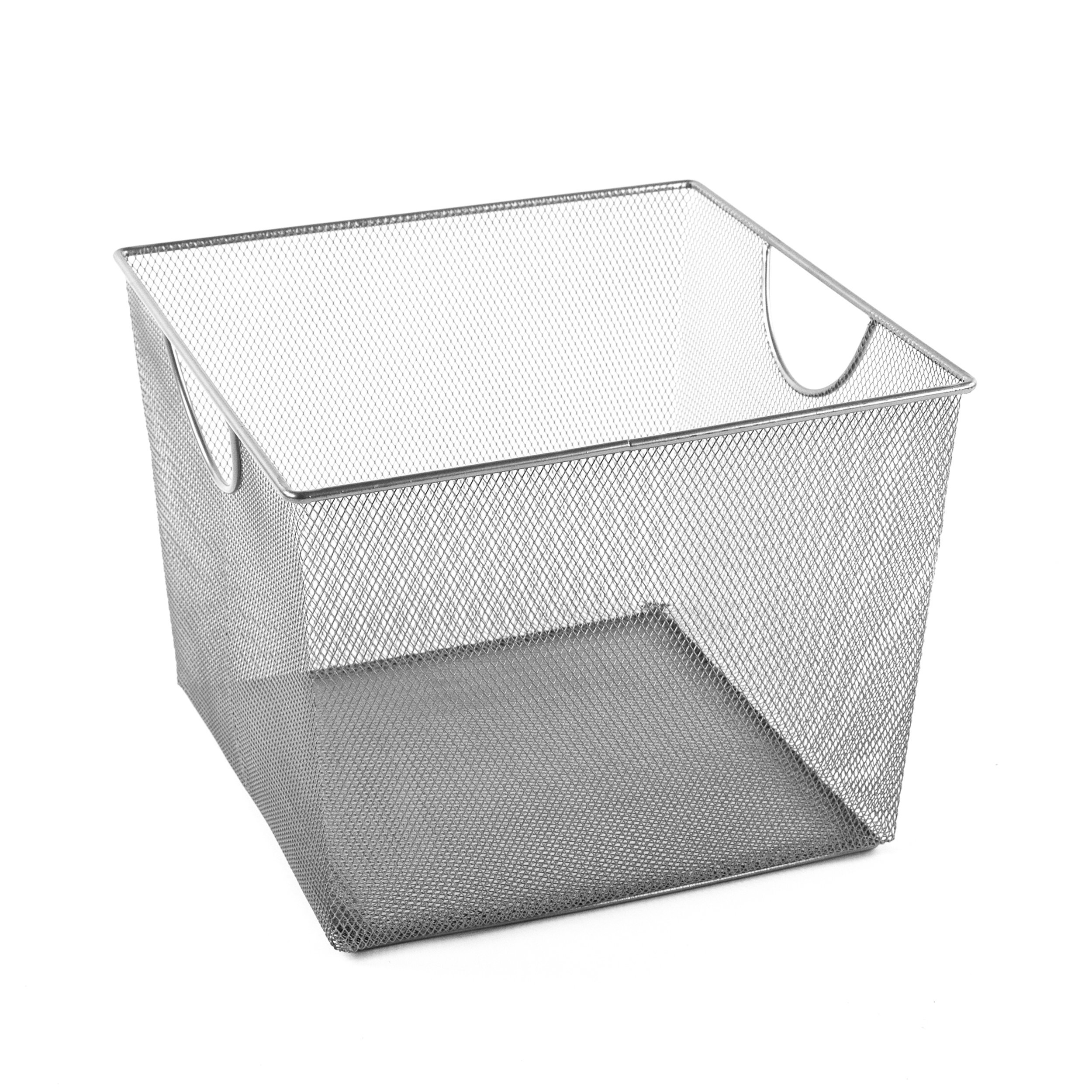 Design Ideas Mesh Storage Nest, Silver, Giant
