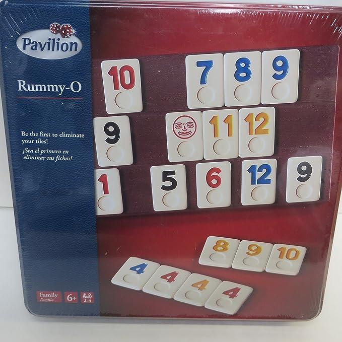 Rummy-O by Pavilion Tin Edition by Pavilion: Amazon.es: Juguetes y juegos