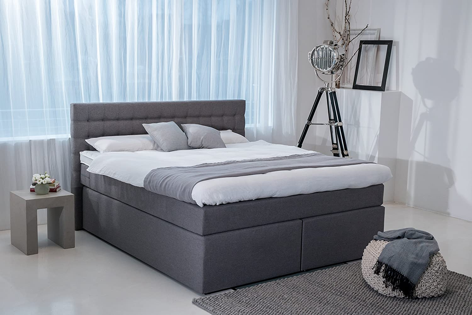 boxspringbett king im test neu 09 2018 testurteil 2 1 gut. Black Bedroom Furniture Sets. Home Design Ideas