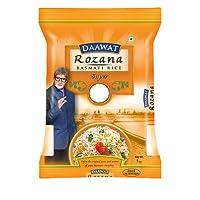 Daawat Rozana Basmati Rice, Super, 1kg