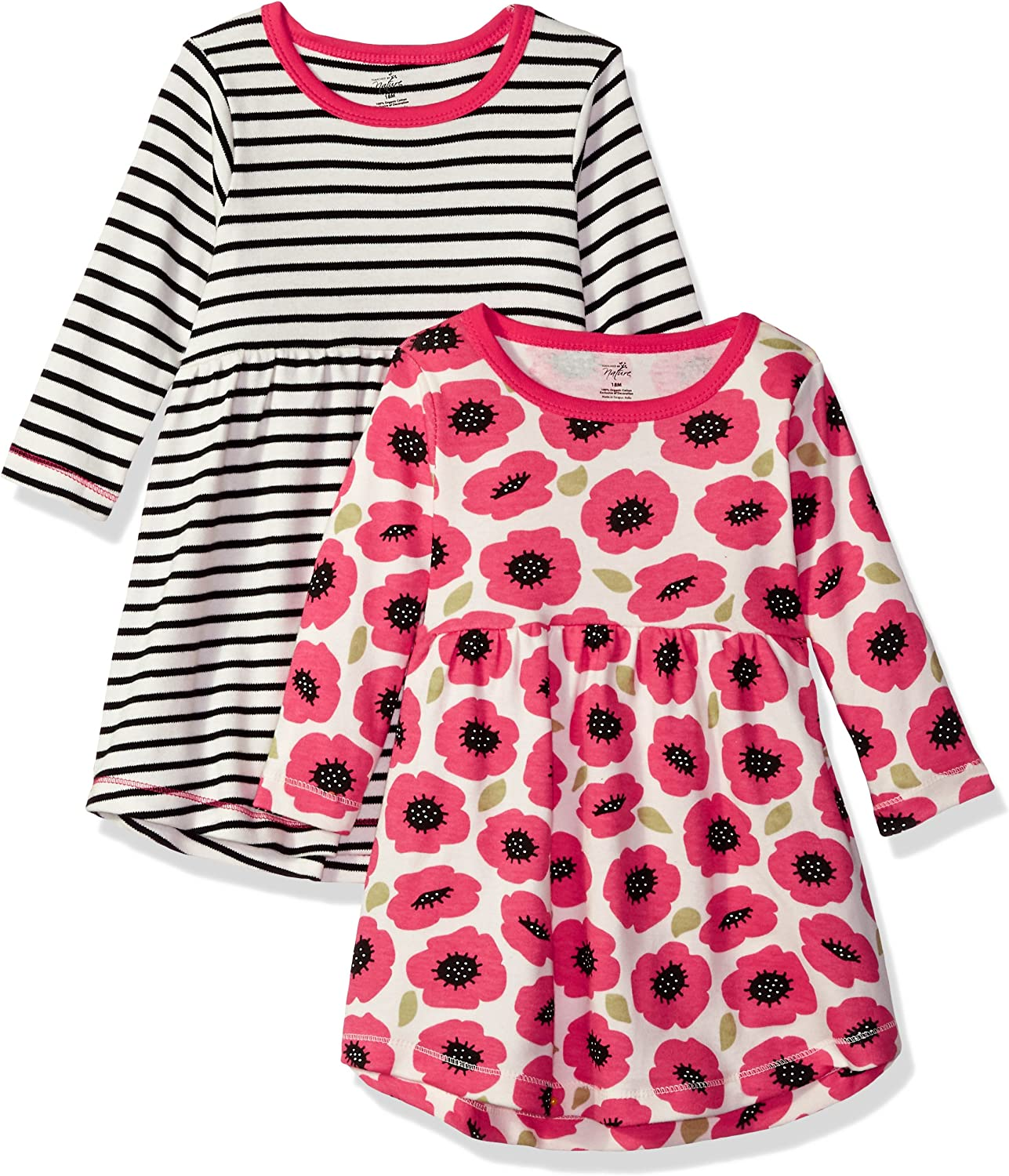 Touched by Nature Girls Baby, Kids, Youth Organic Cotton Dresses