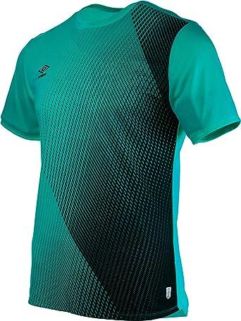 Umbro SILO Training Velocita Graphic tee Camiseta deporte, Verde ...