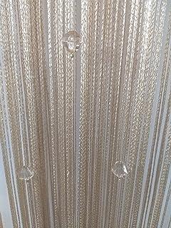 Eve Split Decorative Door String Curtain Wall Panel Fringe Window Room Divider Blind for Wedding Coffee & Amazon.com: Eve Split Decorative Door String Curtain Wall Panel ...
