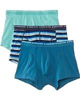 Bjorn Borg Men's Basic 3 Pack Striped Boxer Shorts