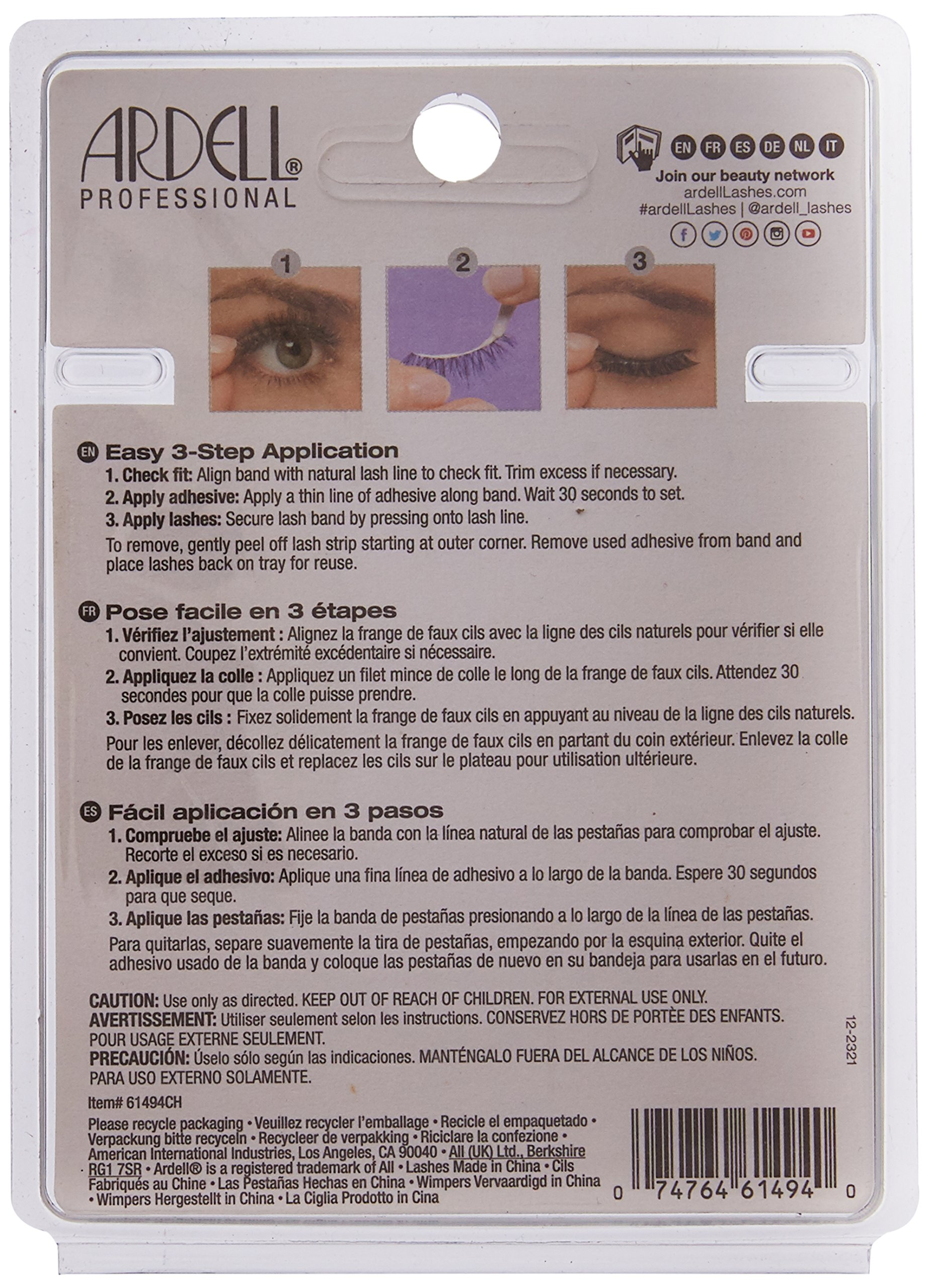 Ardell Multipack Demi Wispies Fake Eyelashes by Ardell (Image #2)