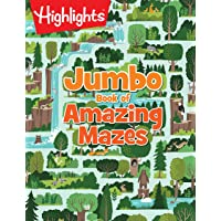 Jumbo Book of Amazing Mazes (Highlights™ Jumbo Books & Pads)