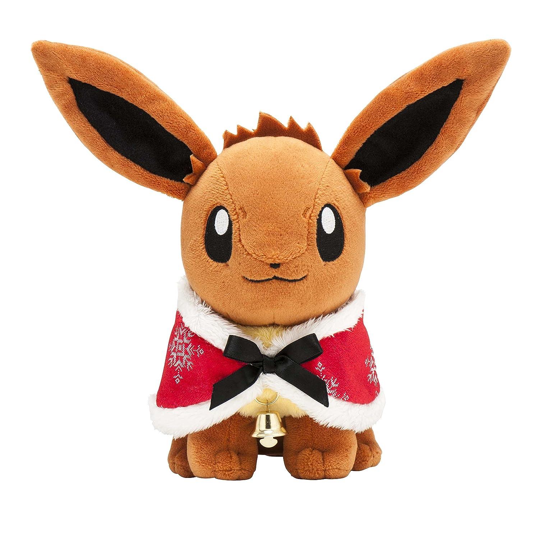 Christmas Eevee.Pokemon Center Original Stuffed Toy Christmas Illuminations Eevee