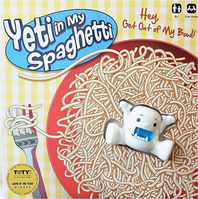 University Games Juego de Mesa Yeti in My Spaghetti»: Amazon.es: Juguetes y juegos