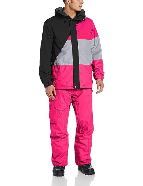 Volcom Chaqueta de Snowboard Johnny, Hombre, Color Negro, tamaño Extra-Large