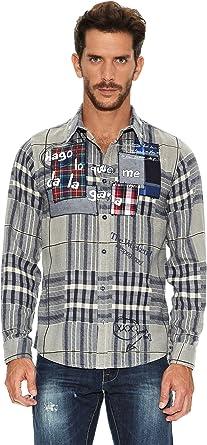 Desigual Camisa Hombre: Amazon.es: Ropa