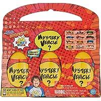 Jada Toys Ryan's World Mystery egg vehicles 3 pack, Multi, (Model: 83553)