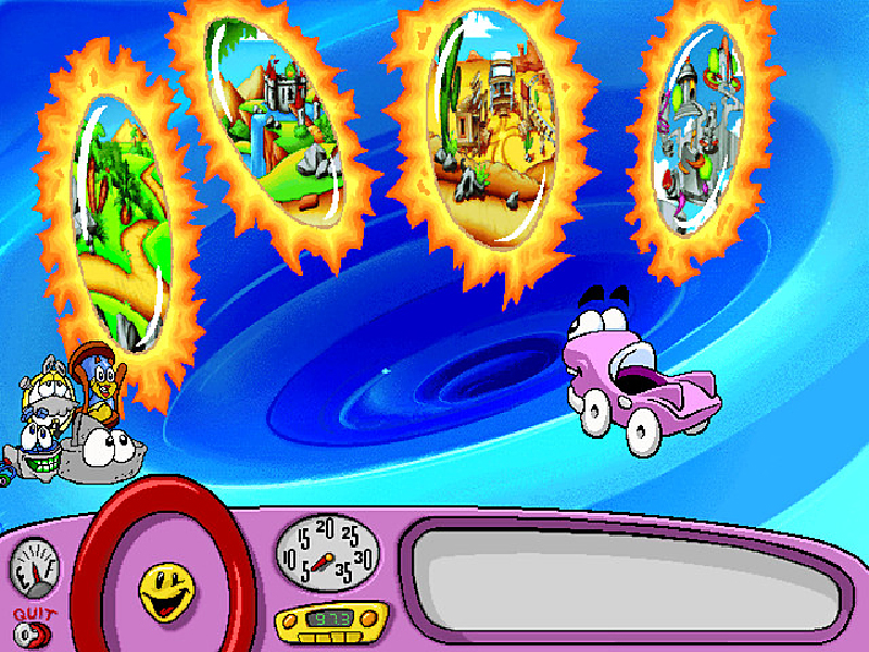 Putt-Putt Travels Through Time [Online Game Code]