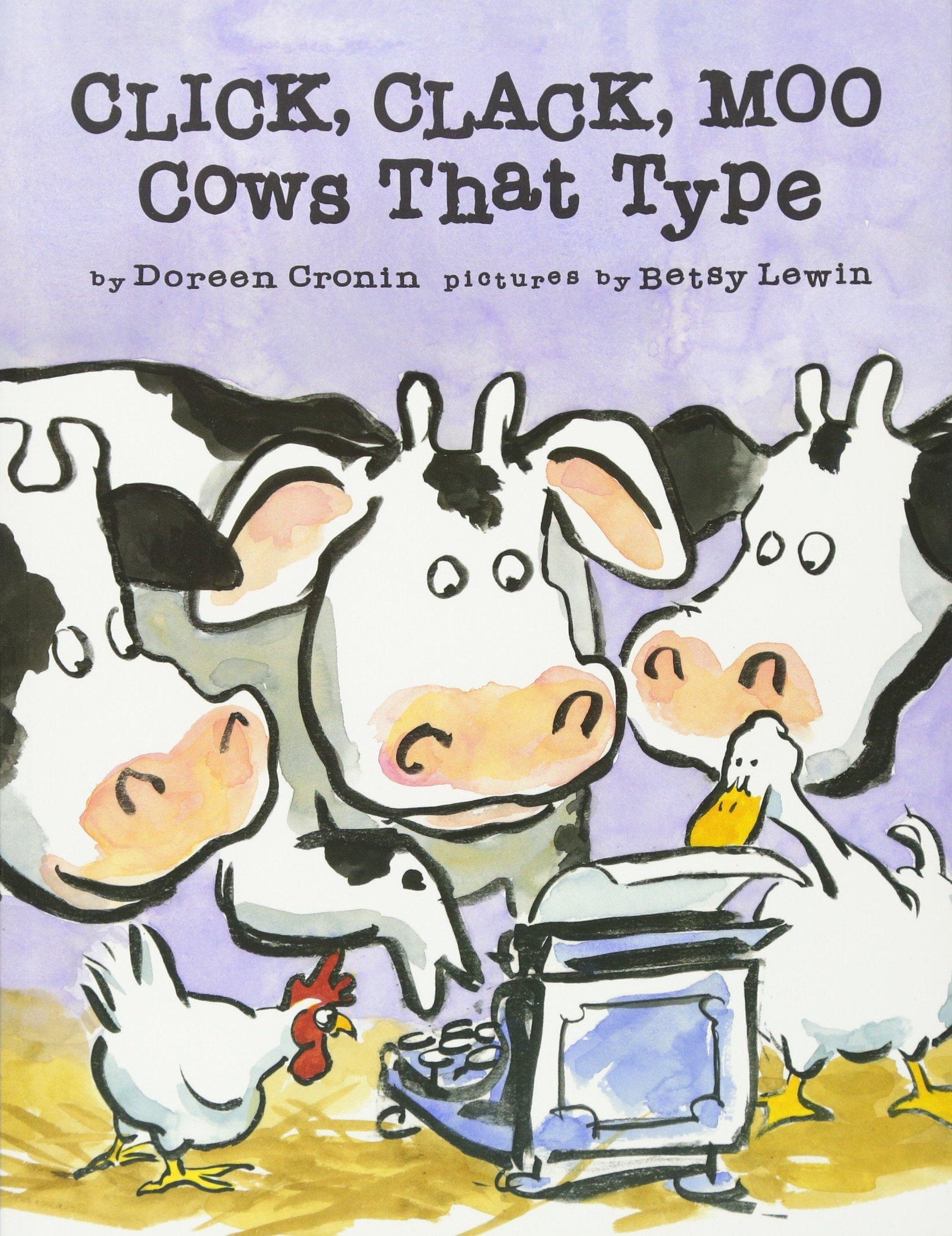 click clack moo cows that type doreen cronin