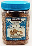 Kirkland Dark Chocolate Toasted Coconut Cashews Net wt 817g