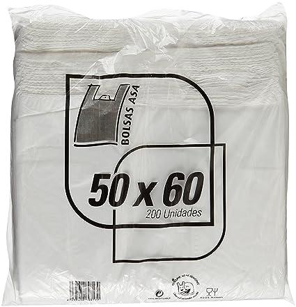 Bolsa anonima camiseta 50x60 200 u: Amazon.es: Belleza