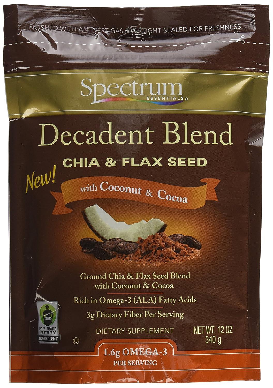 Espectro Essentials Chia y lino mezcla de semillas galletas con ...