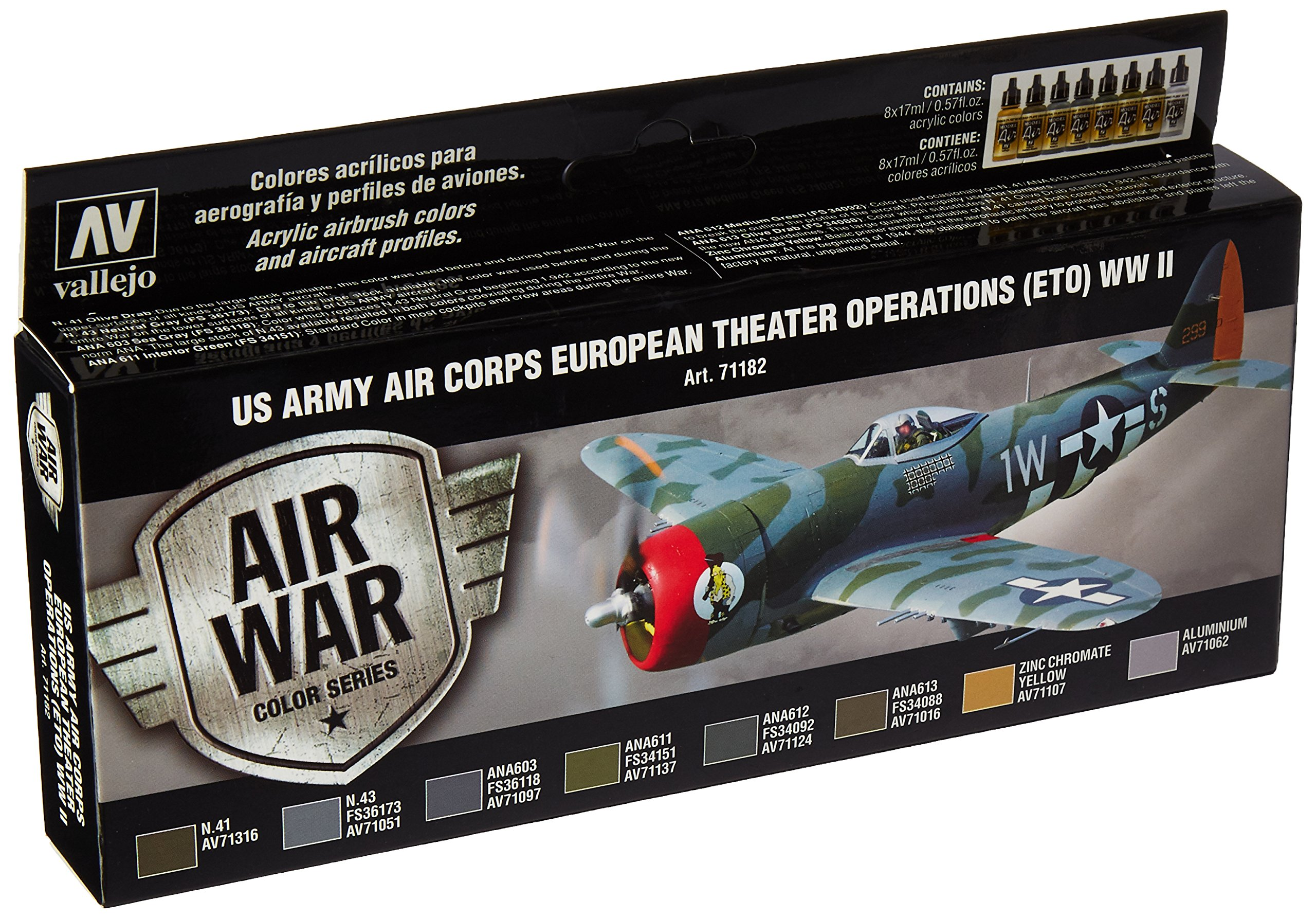 Vallejo Us Army Air Corps European Theater Operations WWII Paint