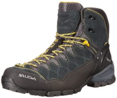 Men's ALP Trainer Mid GTX Alpine Trekking Boot  Hiking Trekking Scrambles  Gore-TEX Waterproof Breathable Vibram Sole Suede and PU Coated Leather Upper