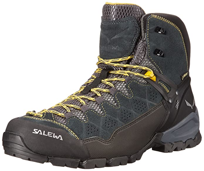 Best Speed Climbing Shoes Salewa Men's ALP Trainer Mid GTX Boots