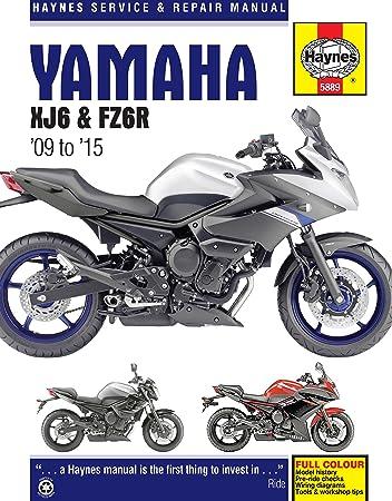 amazon.com: 2009-2015 yamaha fz6 fz6r haynes repair manual: automotive 2014 yamaha fz6 wiring diagram 2000 yamaha yzf-r1 wiring diagram amazon.com