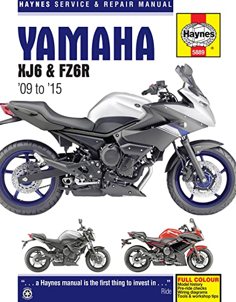 amazon com 2009 2015 yamaha fz6 fz6r haynes repair manual automotive rh amazon com New Yamaha Xmax Scooters Motorcycles 2007 Yamaha 90 4 Stroke Motorcycle
